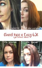 clairol nice n easy natural light auburn warming my hair color for winter clairol makes it nice n easy