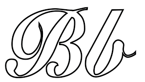 alphabet coloring pages b word free alphabet coloring pages of