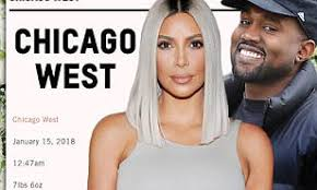 Nude Girl Meme - kim s baby name chicago west sparks meme madness daily mail online
