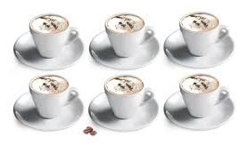 Cappuccino Cups by Cuisinox Cappuccino Cup And Saucer U0026 Reviews Wayfair