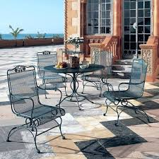 wrought iron outdoor dining table wrought iron outdoor dining chairs fashionflirt me