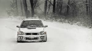 stanced subaru hd subaru impreza winter rally race wallpaper http www