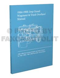 1984 jeep grand wagoneer u0026 j truck original wiring diagram schematic