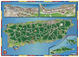 Old San Juan Map Mapscapes