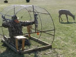 How To Make A Hay Bail Blind Round Hay Bale Hunting Blinds Best Blind 2017