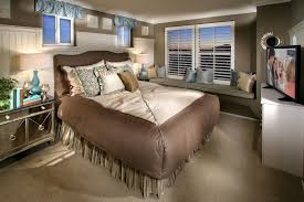 Double Bed Designs For Small Rooms Impressive Nightstand Near Small Window Above Double Bed In