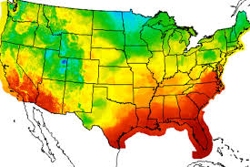 temperature map 2012 was second warmest year on record in indiana indiana