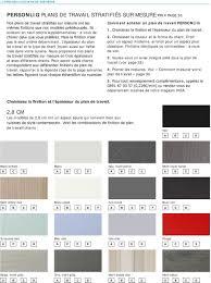 plan de travail cuisine sur mesure stratifié personlig plans de travail stratifiés sur mesure prix page 36 2 8 cm