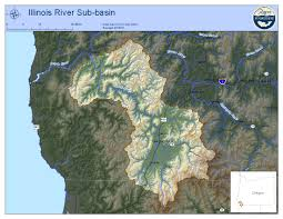 Illinois District Map by Illinois Sub Basin U2014 Rogue Riverkeeper