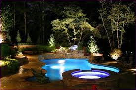 landscape lighting ideas for your pool bee home plan home