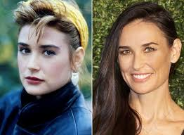 demi moore haircut in ghost the movie demi moore turns 53 today see her style transformation instyle com