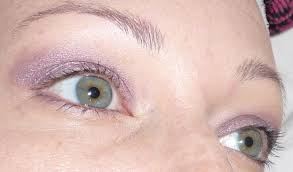 purple eye color review mary kay cream eye color violet storm dish makeup