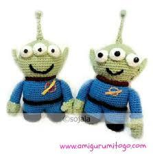 alien lgm free crochet pattern amigurumi