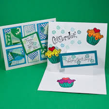 Samples Of Birthday Greetings Card Making Idea Step Pop Up Card Tutorial Greeting Card Class