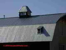 Barn Roof by Metal Roofing Products Metal Roofing Materials Inspections