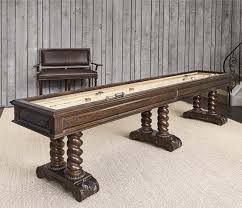 castilian shuffleboard table game room tables and chairs free