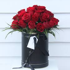 boxed roses 3 dozen roses box miei fiori