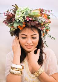floral headdress 30 floral bridal crowns headpiece ideas wedding philippines