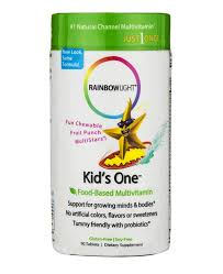 rainbow light kids one rainbow light kid s one is a star shaped fruit punch that is