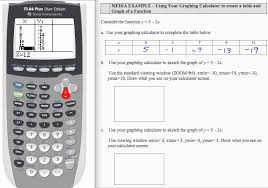 complete the table calculator 12x l1 p16 f13 intermediate algebra tables graphs with ti 83
