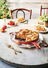 www southernliving skillet caramel apple pie recipe southern living mastercook