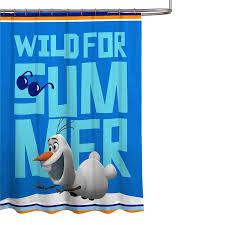 Disney Shower Curtains by Amazon Com Disney Frozen Olaf 70