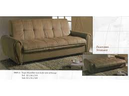 Clik Clak Sofa Bed by Taupe Converter Microfiber Click Clack Sofa Storage Bed Cedar