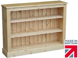 solid pine bookcase 3ft x 4ft handcrafted u0026 waxed adjustable