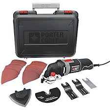 Fine Woodworking Multi Tool Review by Porter Cable Pce606kr 3 0 Amp Oscillating Multi Tool Kit With 11