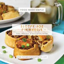 sloppy joe pinwheels easy 30 minute dinner kid friendly recipe