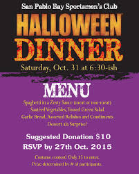 halloween party u2013 rsvp please by the 27th u2013 san pablo bay
