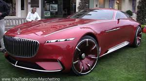 mercedes vision mercedes maybach 6 being driven w a remote youtube