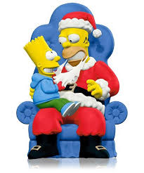 2014 the simpsons d oh ho ho hallmark ornament hooked on