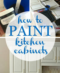 painting kitchen cabinets with chalk paint how to paint kitchen cabinets at home with the barkers