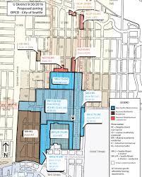 Scc Map Understanding The University District Rezone