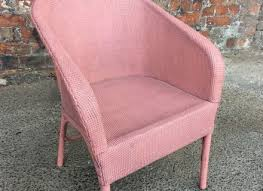 Chic Armchair Shabby Chic Painted Pink Bedroom Chair Armchair Conservatory