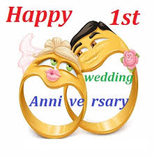 1st year wedding anniversary wedding anniversary wishes for friends