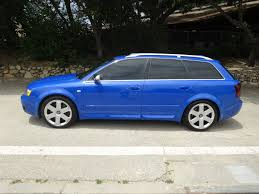 2004 audi s4 blue this 2004 audi s4 avant is a low mileage b6 exle in nogaro