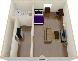 studio apt floor plan towson place apartments