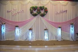 Decorative Curtains Decor Wedding Ideas Wedding Curtain Decoration Michigan Kennel For