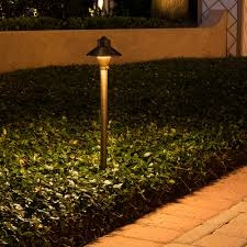 Landscap Lighting by Black Brass Led Path U0026 Area Lights Landscape Lighting Volt