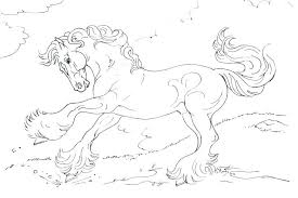 coloring sheets of a horse horse printable coloring pages goodpr me