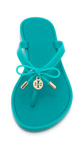 tory burch dinnerware tory burch turquoise jelly bow thong sandals everything turquoise