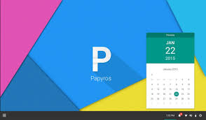 papyros is a linux os that follows google u0027s material design and it