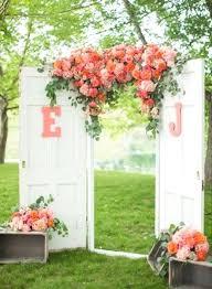 Garden Wedding Idea 43 Best Outdoor Wedding Entrance Ideas Pink Lover