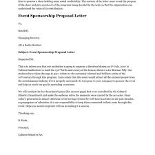 format proposal sponsorship pdf event sponsorship proposal letter in word and pdf formats pertaining