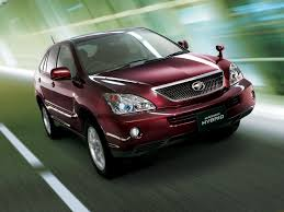 toyota harrier harrier hybrid 2005 wallpapers