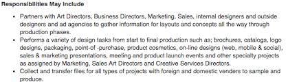 Resume For Fashion Designer Job by Graphic Design Resume Sample U0026 Writing Guide Rg