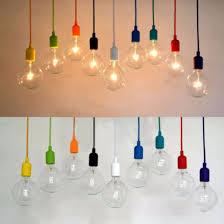 colorful e27 e26 silicone ceiling lamp holder light socket