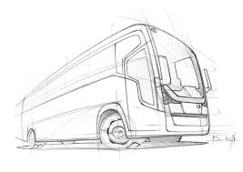 bus sketch bus pinterest sketches cars and transportation
